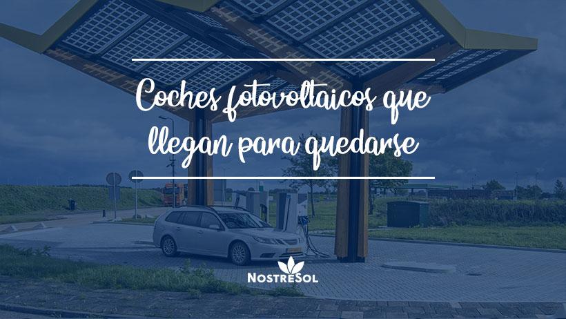 coches fotovoltaicos