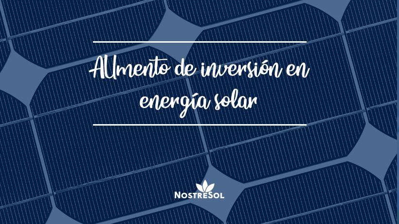 El autoconsumo de energía solar sigue en aumento
